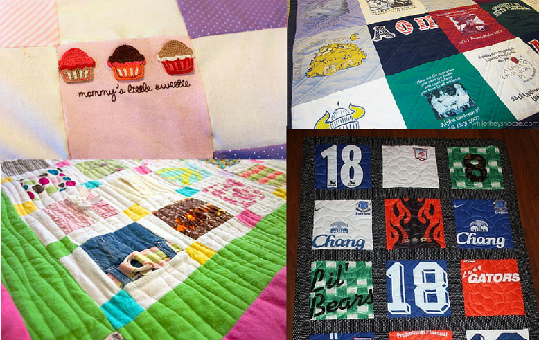 How to make a t shirt quilt smart quilting seams and for How to make t shirt quilts easy
