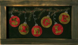 Jingle Holiday Wall Decor