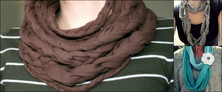 6 Simply Stylish No Sew Scarves