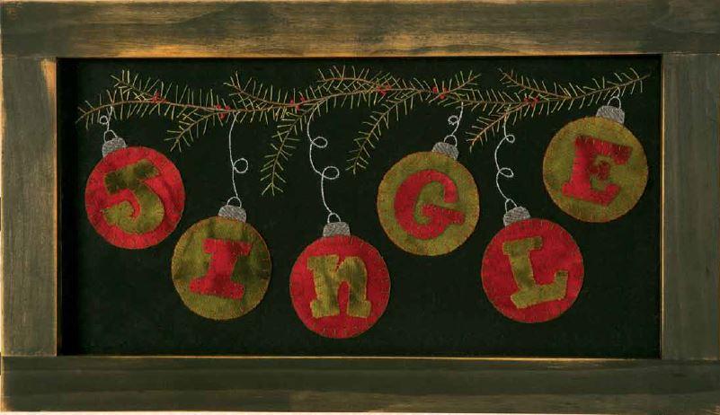 Jingle Holiday Wall Decor
