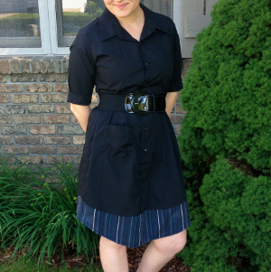 Simple Upcycled Dress