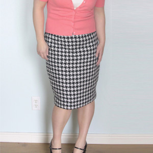 Easy Pencil Skirt Refashion