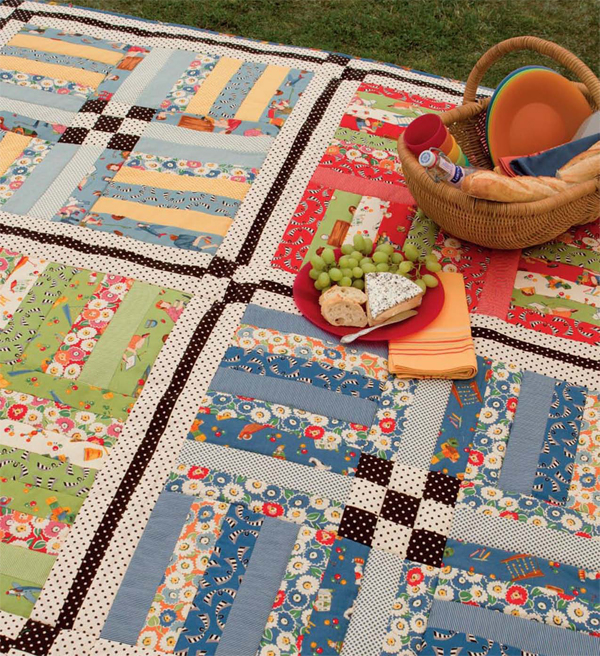 Picnic Blanket Patterns That Will Get You Ready for Spring