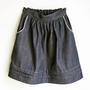 How to Sew Pockets into a Skirt