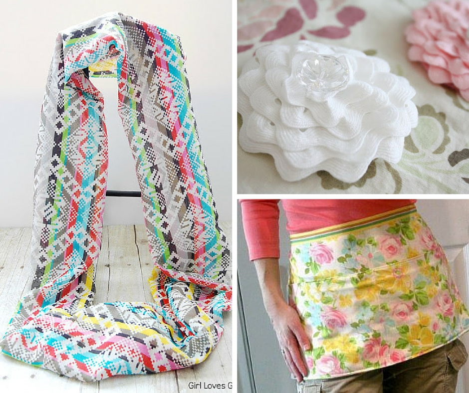 easy sew projects Give your brain a break with a simple sewing project that doesn't involve a lot of concentration here are 13 projects you can whip up in a weekend.