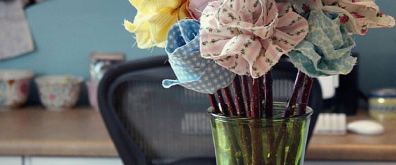 How to Make Fabric Flowers: 10 Free Sewing Patterns for Spring