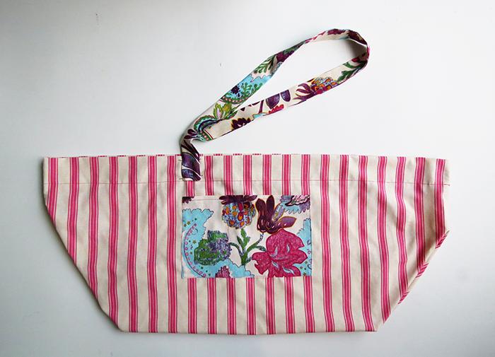 the big beach bag sewing tutorial ohohblog 11