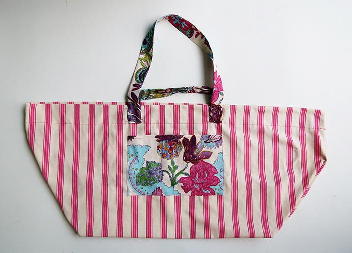 the big beach bag sewing tutorial ohohblog 12