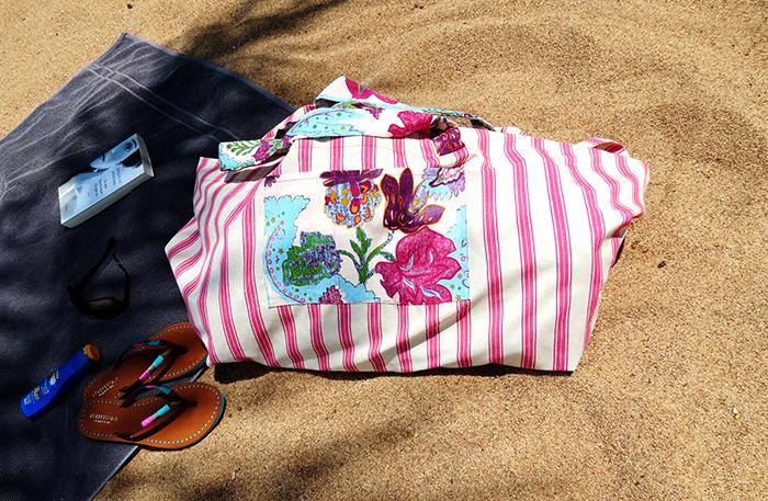the big beach bag sewing tutorial ohohblog 20