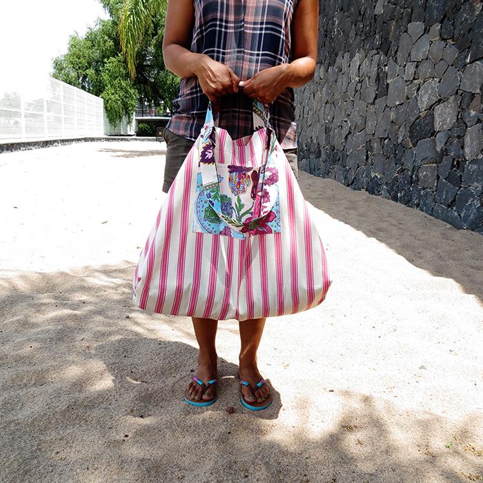 the big beach bag sewing tutorial ohohblog 21