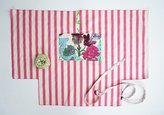 the big beach bag sewing tutorial ohohblog 5