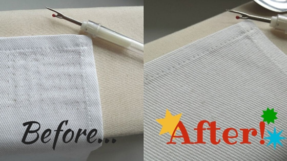 Sewing Tip: How to Remove Stitch Marks From Your Fabric - Seams And