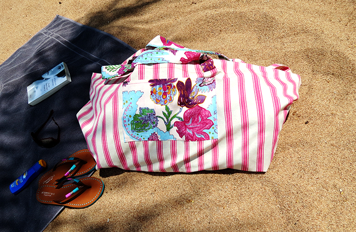 the big beach bag sewing tutorial ohohblog 20