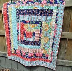 Country Cabin Lap Quilt