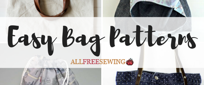 15 Easy Bag Patterns