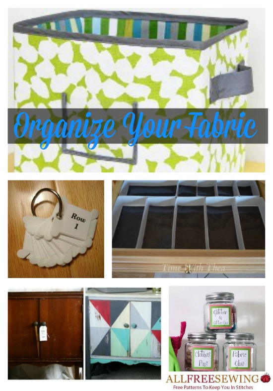 Organize Your Fabric