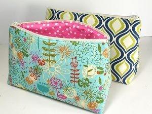 Zip up DIY Cosmetics Bag