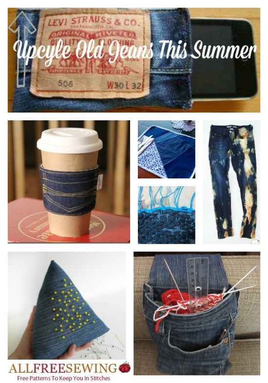 How to Upcycle Old Denim This Summer