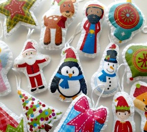 Cute and Easy DIY Christmas Ornaments