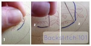Backstitching