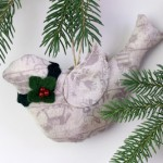 Holiday Dove Ornament