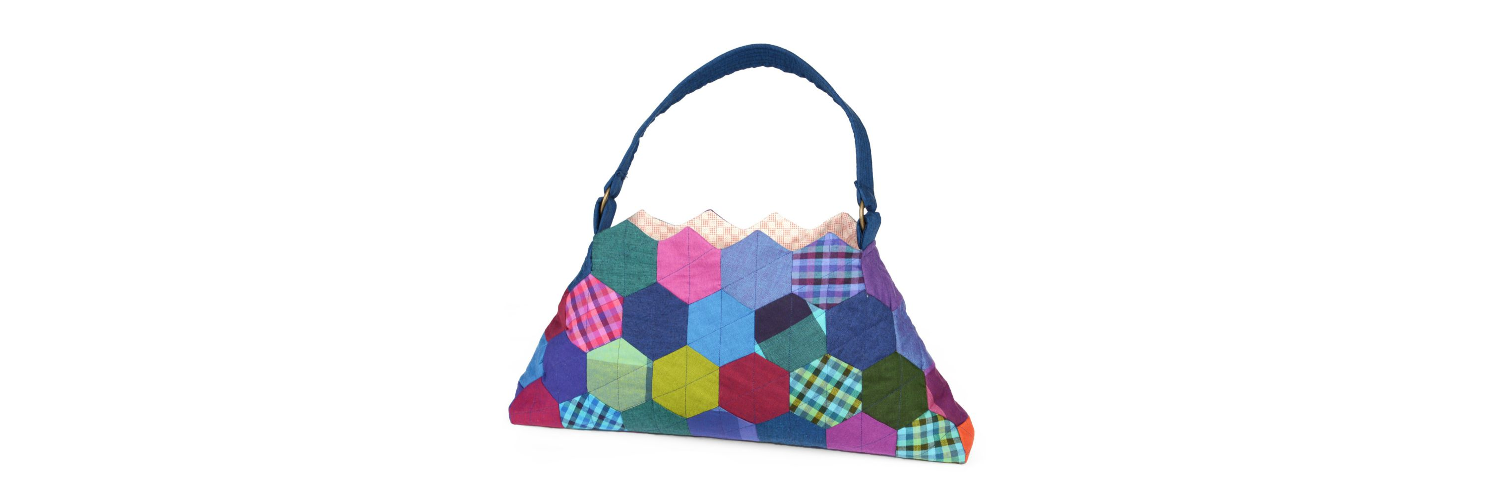 Hexagon Purse From Sizzix Giveaway Seams And Scissors