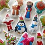 可爱简单的手工制作圣诞装饰品_Medium_ID-739810