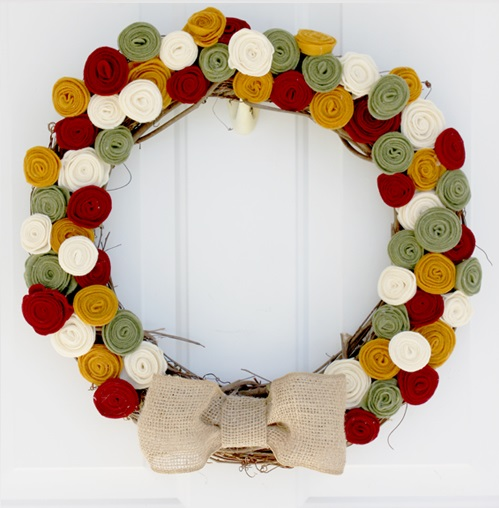 Fall Floral Wreath