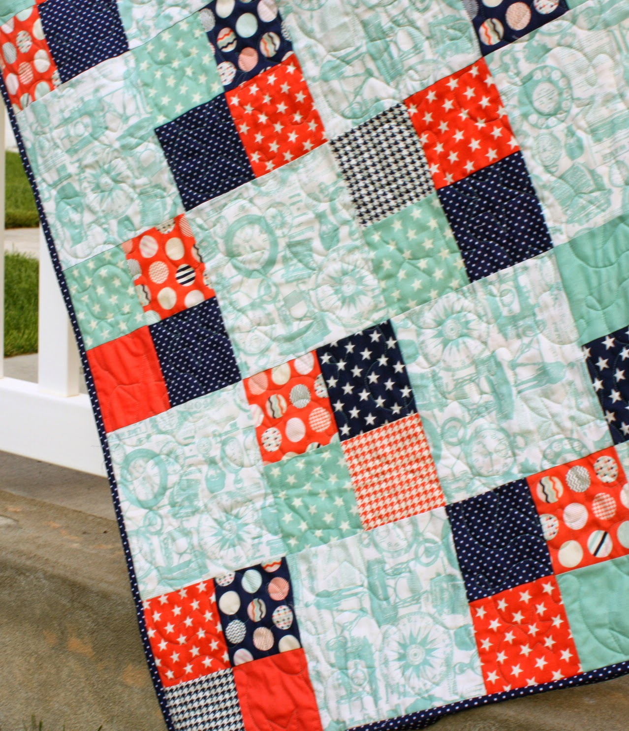 Fast Quilt Pattern