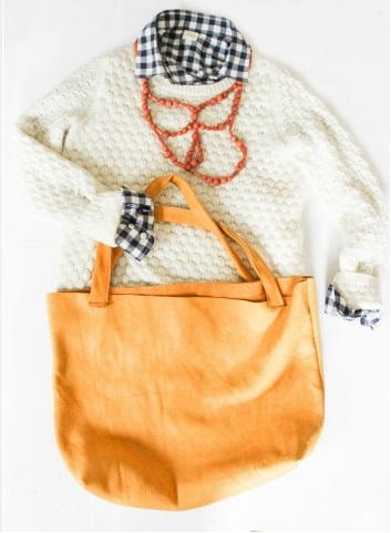 Leather Tote Sewing Pattern