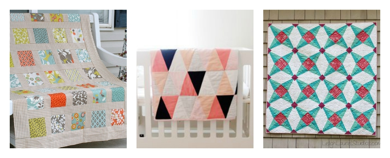 10 totally free modern quilt patterns seams and scissors for Modern house quilt pattern