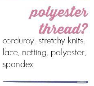 When to Use Polyester Thread