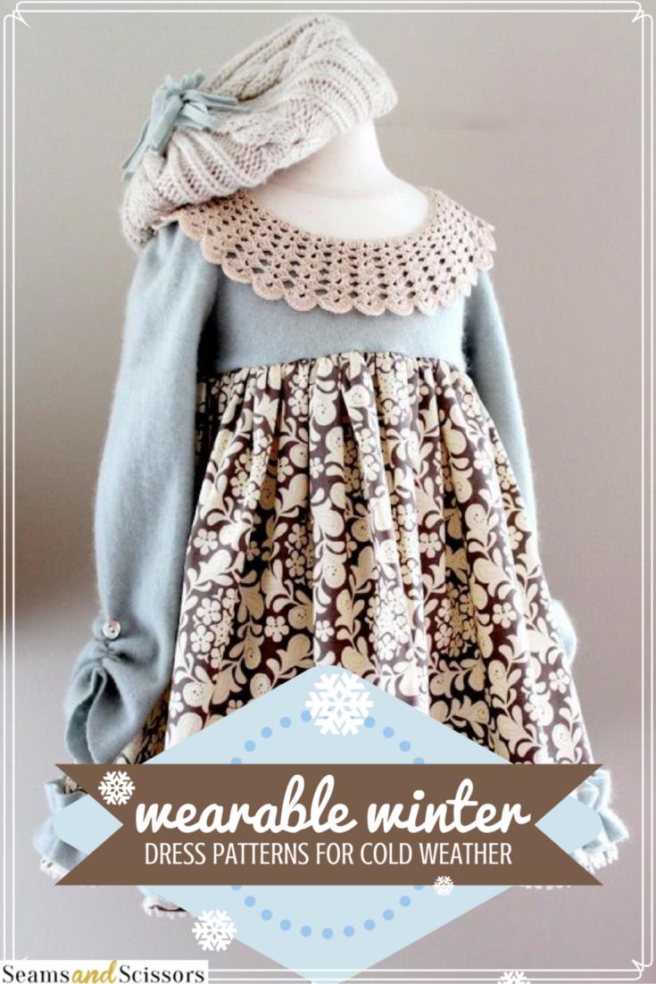 冬天的衣服图案