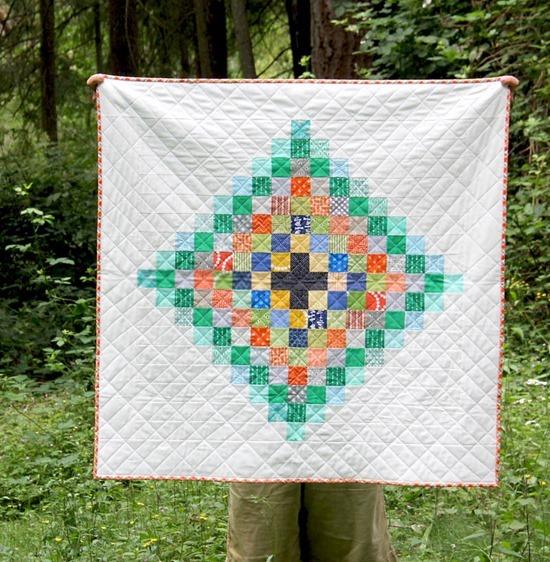 Chippewa Quilt + Free Pattern