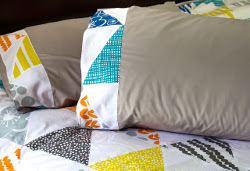 Bella Mountain Duvet and Pillows