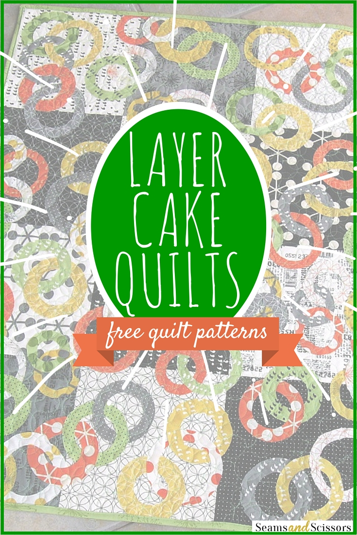 layer cake quilt patterns We ♥ Precuts: 7 Layer Cake Quilt Patterns   Seams And Scissors layer cake quilt patterns