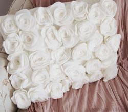 DIY玫瑰枕