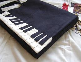 钢琴单肩包