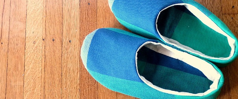 DIY Slippers: House Shoes Tutorial