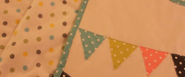 Free Quilt Pattern: Polka Dot Baby Bunting Quilt