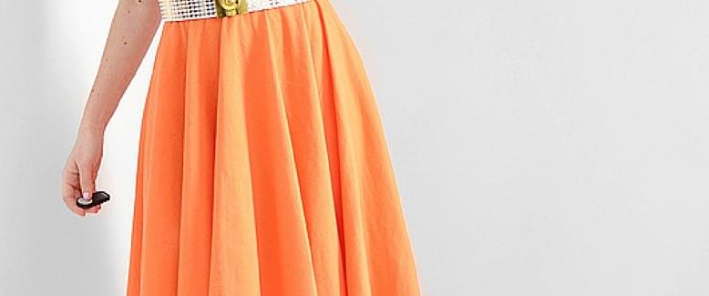 DIY Skirt Pattern: High Low Circle Hem Tutorial