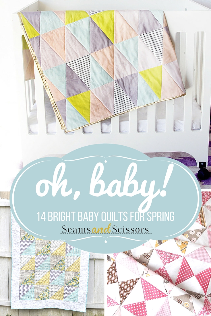 Bright Baby Quilts for Spring