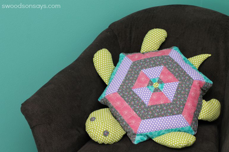 Patchwork Turtle Softie