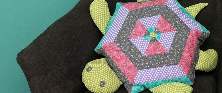 Quilted Turtle Stuffed Animal Pattern