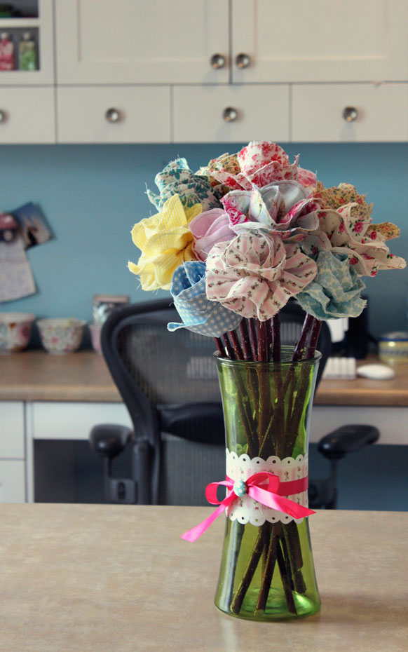 Easy Fabric Flower Patterns
