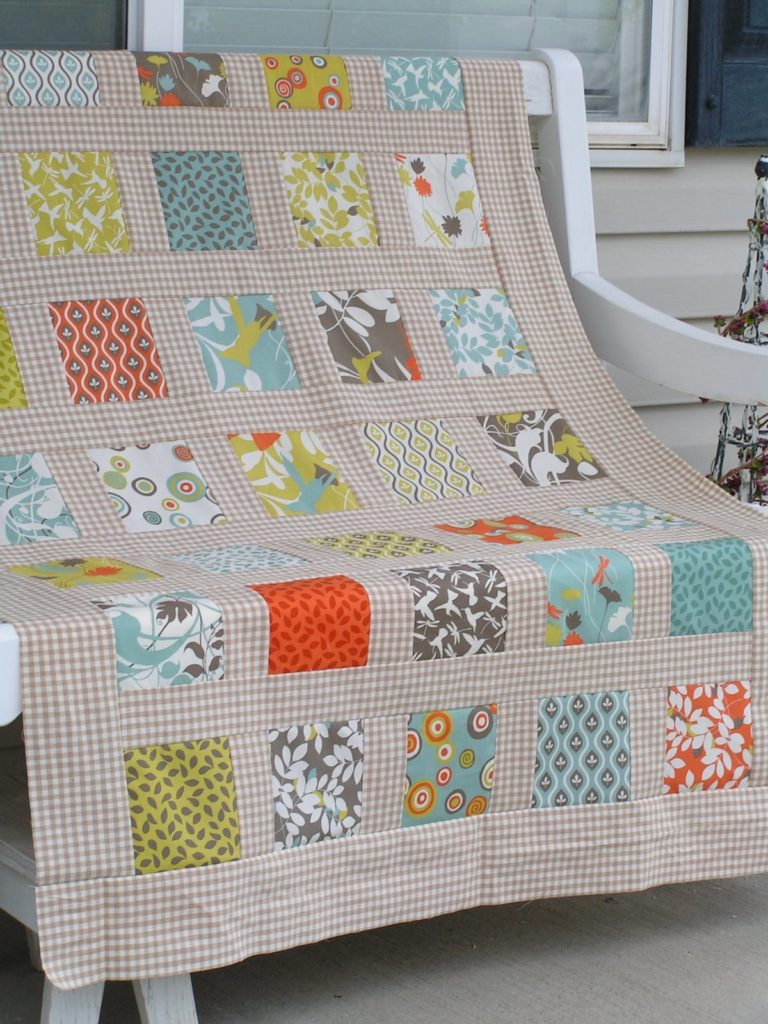 Modern Garden Quilt