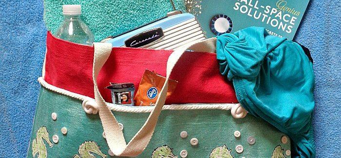 DIY Beach Bag Sewing Pattern