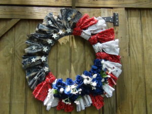 Patriotic wreath (10)