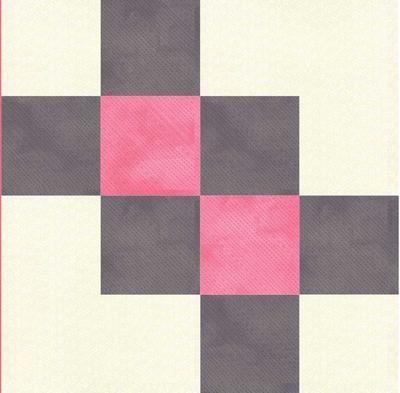 Arrowhead Puzzle Quilt Block Pattern