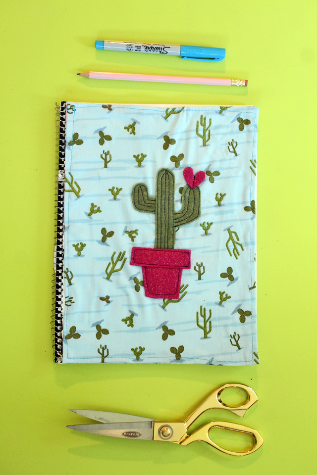 diy fabric notebook cover (1)